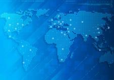Technologie-wereld Stock Illustratie