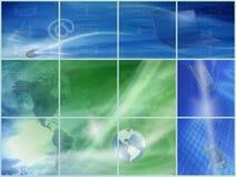 Technologie, Wereld en Toekomst Stock Foto