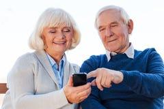 Technologie zostać łatwymi Zdjęcie Royalty Free
