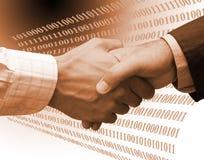 Technologieabkommen Stockbilder