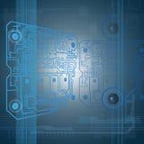 Technologieachtergrond Stock Foto's