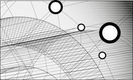 Technologieachtergrond. Royalty-vrije Stock Afbeelding