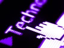 Technologiebildschirm Lizenzfreie Stockfotografie