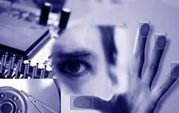 Technologiecollage Lizenzfreies Stockfoto