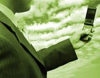 Technologiegeschäft Stockfoto