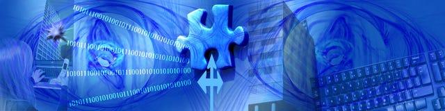 Technologiegeschäft und das fehlende Stück Lizenzfreies Stockfoto