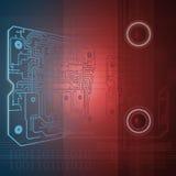 Technologiehintergrund Stockbild