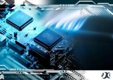 Technologiehintergrund Lizenzfreie Stockfotos
