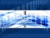 Technologiehintergrund lizenzfreie abbildung
