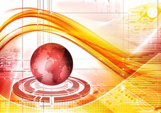 Technologiehintergrund vektor abbildung