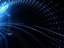 Technologiehintergrund - erzeugtes Bild der Zusammenfassung digital Stockfotografie