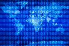 Technologiehintergrund für intelligente Stadt mit Internet von Sachen Lizenzfreie Stockfotos