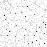Technologiehintergrund für Website von den schwarzen Punkten von connecti stock abbildung