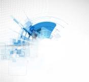 Technologiehintergrund, Idee der Lösung des globalen Geschäfts Lizenzfreies Stockbild