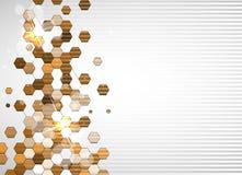 Technologiehintergrund, Idee der Lösung des globalen Geschäfts Lizenzfreies Stockfoto