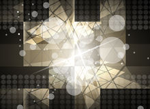 Technologiehintergrund, Idee der Lösung des globalen Geschäfts Lizenzfreie Stockbilder