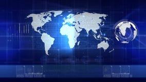 Technologiehintergrund SCHLEIFE stock abbildung