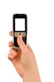 Technologiekommunikationstelefon Lizenzfreie Stockbilder