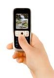 Technologiekommunikationstelefon Lizenzfreies Stockbild