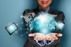 Technologiekonzept Lizenzfreies Stockfoto