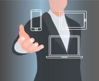 Technologiekonzepte Lizenzfreie Stockfotos