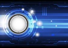 Technologiekonzepthintergrund Lizenzfreie Stockbilder