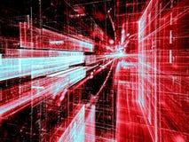 Technologiemanier - abstract digitaal geproduceerd beeld Royalty-vrije Stock Foto
