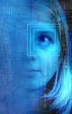Technologiemädchen Stockfoto
