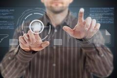 Technologien der Zukunft lizenzfreie abbildung