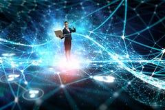 Technologien, die beeindrucken Gemischte Medien vektor abbildung