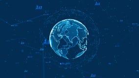 Technologienetz Stockbild