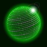 Technologieplanet. Stockbilder