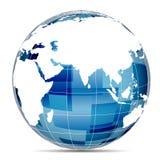 Technologieplanet Lizenzfreies Stockfoto