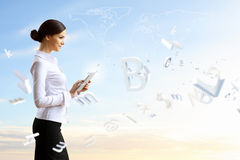 Technologies d'affaires aujourd'hui Image stock