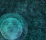 Technologies d'Internet de réseau global Illustration de Digital 3d illustration de vecteur