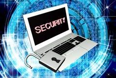Technologies de connexion internet de sécurité Photo libre de droits