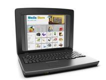 Technologies de medias. Images libres de droits