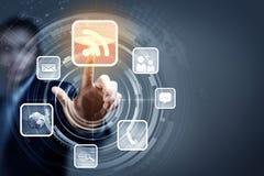 Technologies de medias Images libres de droits