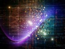 Technologies de particules Images stock