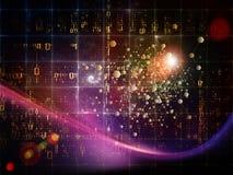 Technologies de particules Photo libre de droits