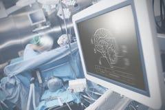 Technologies de pointe modernes dans le service des sciences médicales Photographie stock