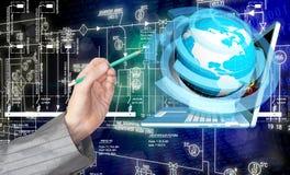 Technologies de télécommunications Images libres de droits