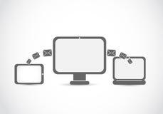 Technologies de transfert de courrier Image libre de droits
