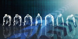 Technologies disruptives illustration libre de droits