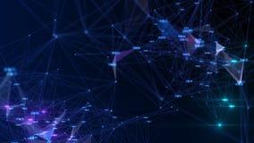 Technologies et science abstraites de fond banque de vidéos