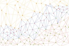 Technologies futées de lien pour fournir la connectivité facilement disponible a Illustration de Vecteur