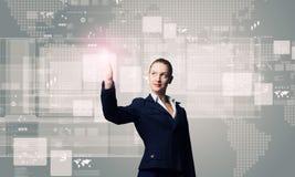 Technologies innovatrices Images libres de droits