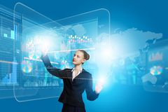 Technologies innovatrices Image libre de droits