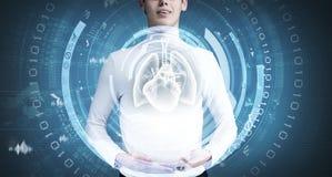 Technologies innovatrices dans la médecine Images libres de droits