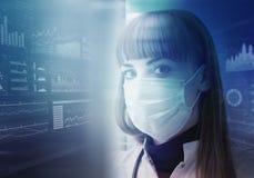 Technologies innovatrices en science et médecine Photo libre de droits